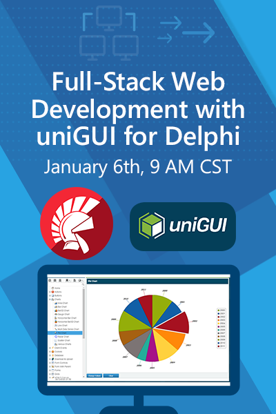 25 Banners Full Stack Web Development With Unigui For Delphi April 12 21 400x600