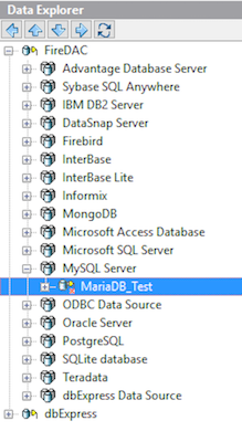 Explore your database direct from the IDE
